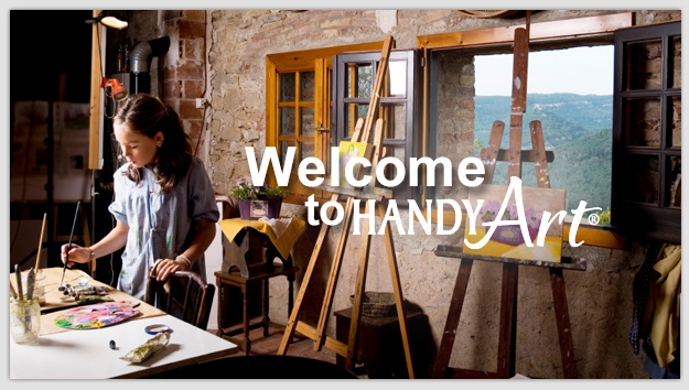 "Welcome to Handy Art®, Inc."" title="