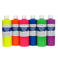 Fluorescent Washable Paint