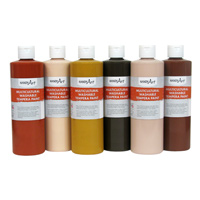 Multicultural Washable Tempera Paint