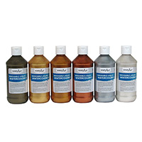 Washable Metallic Liquid Watercolors